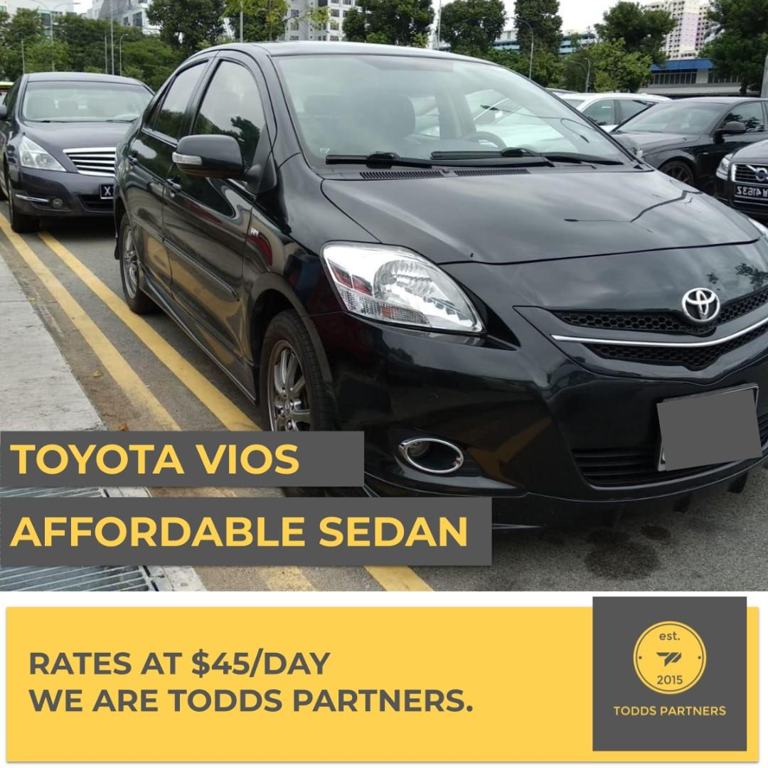 For Grab/GoJEK - Toyota Vios