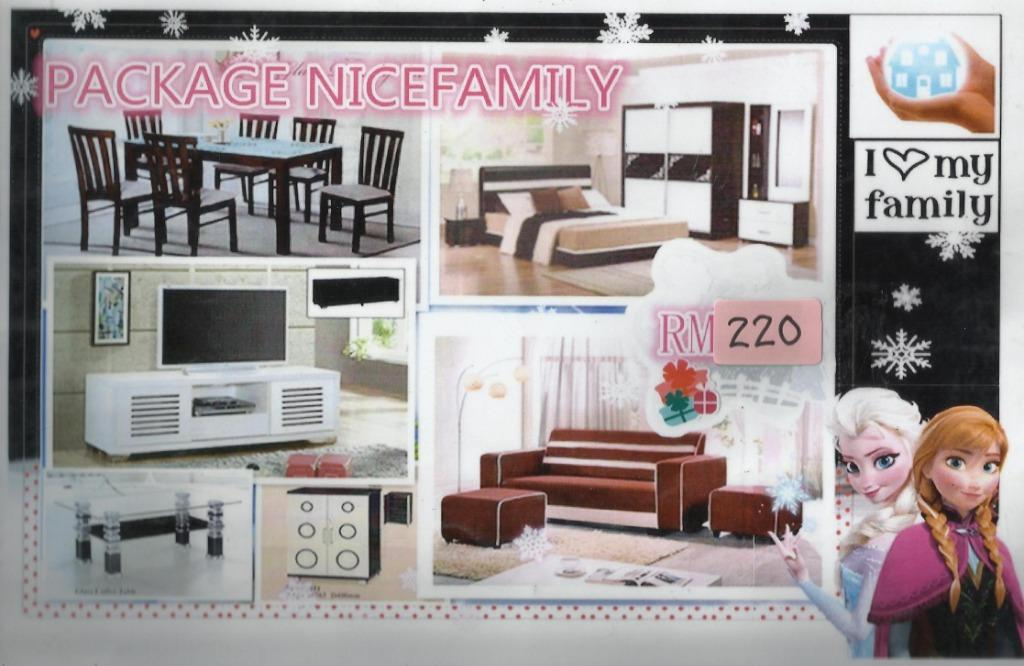 FULL PACKAGE 7 IN 1 HOME FURNITURE