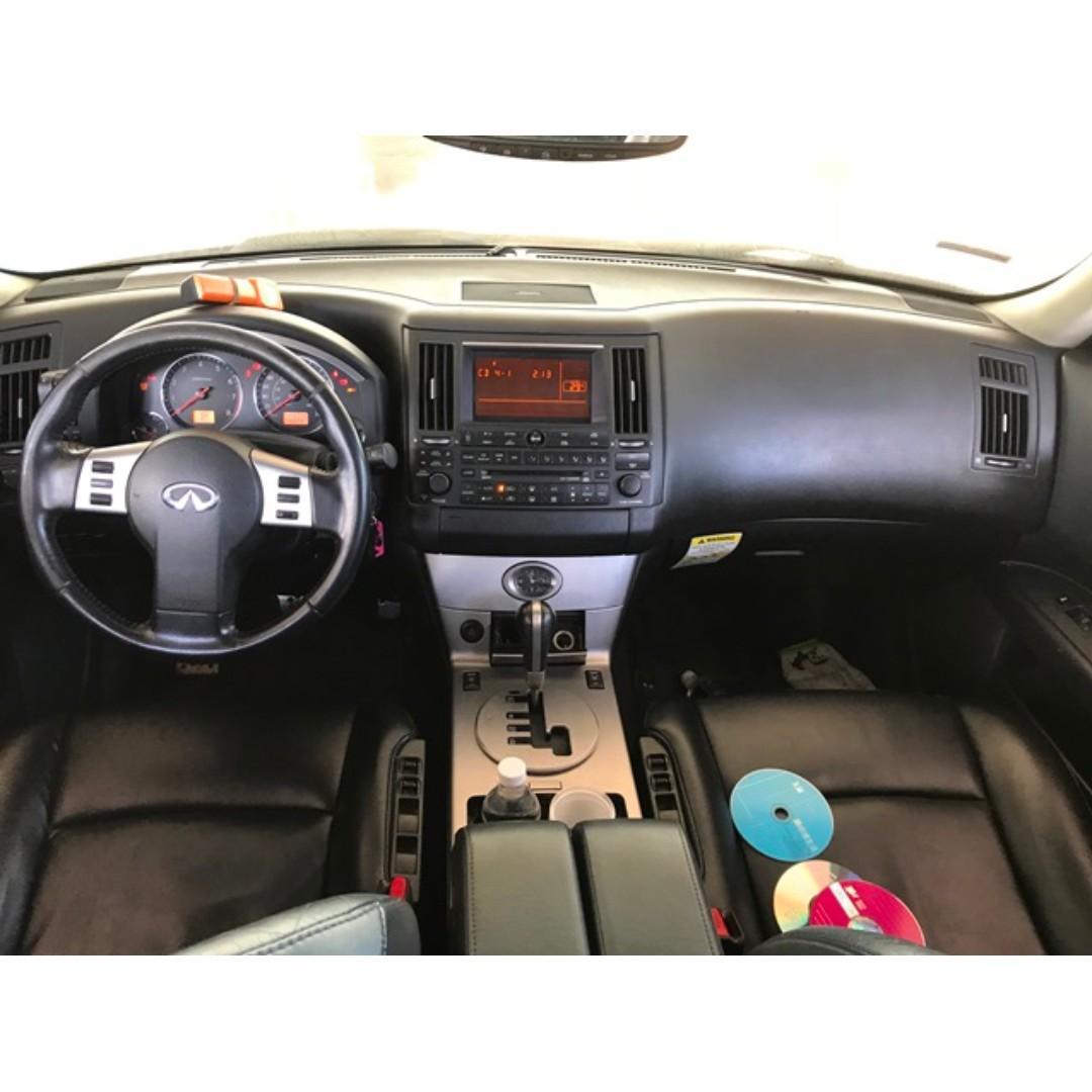 無限-FX35-04年-中古車 二手車 全額貸 零頭款 代步車  來店看車就送按摩禮卷❤!!