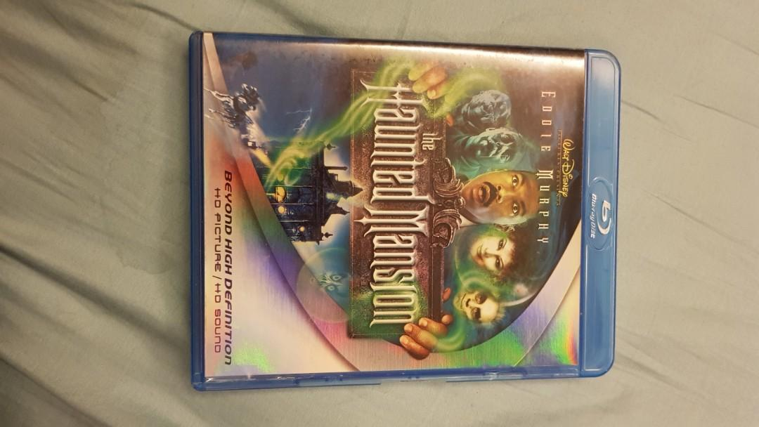 Haunted Mansion Blu Ray