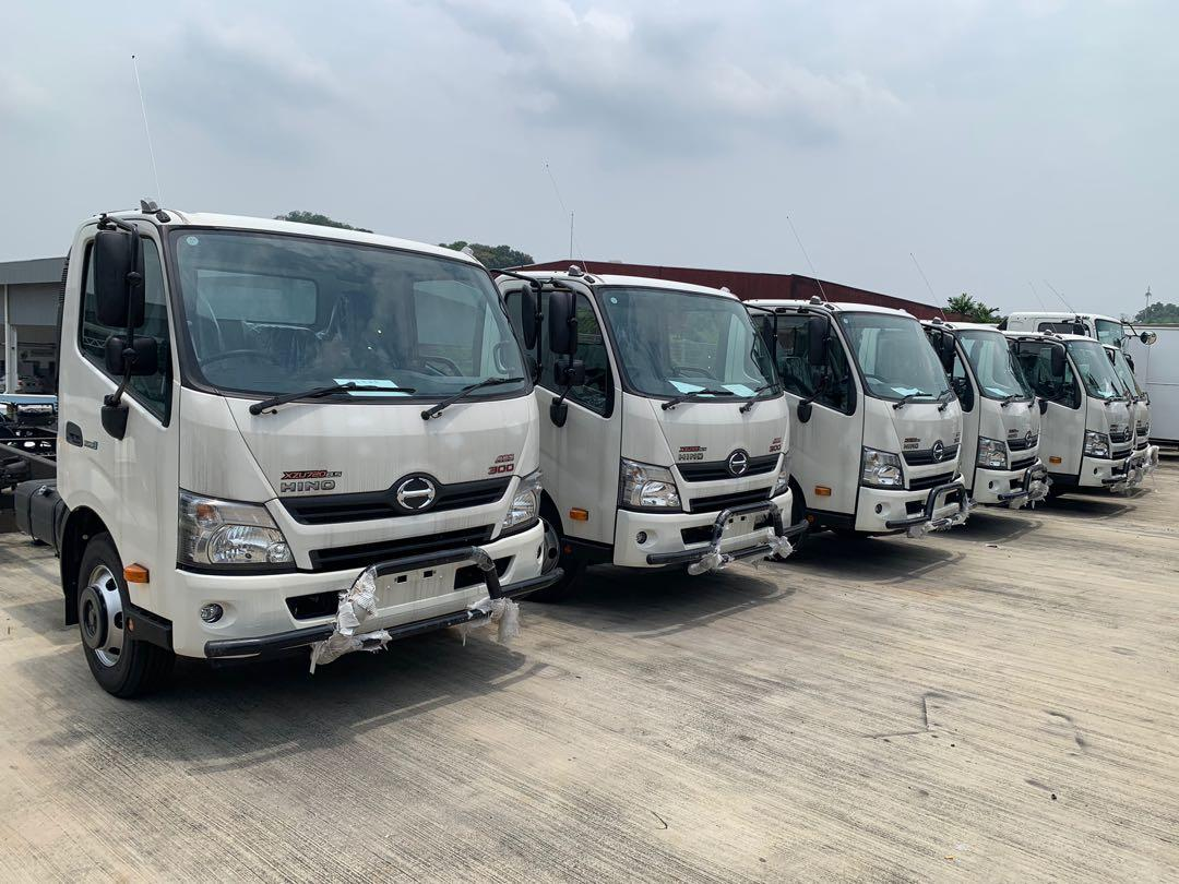 HINO TRUCK COME WITH 5 YEARS / 200000KM WARRANTY HIGH REBATE