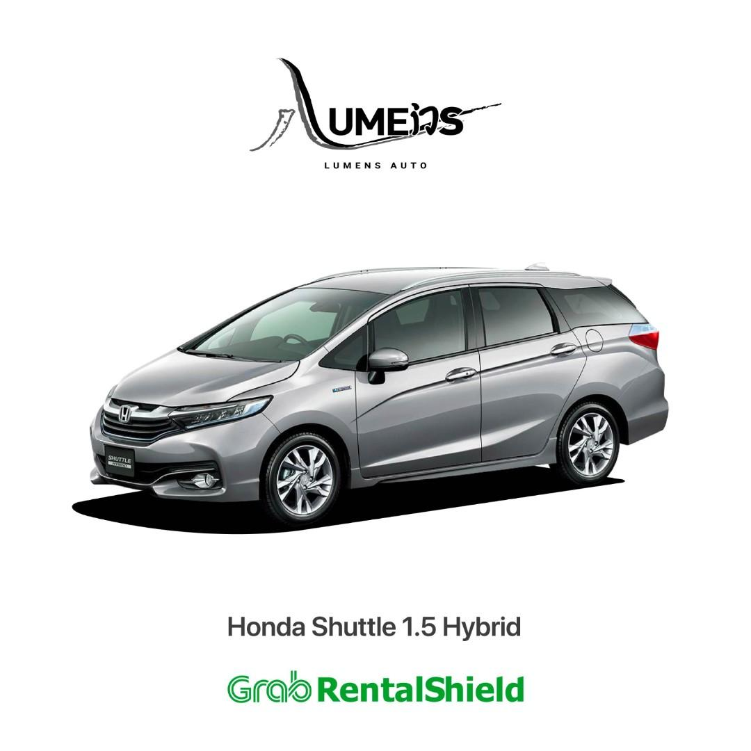 Honda Shuttle the Hybrid Get More Space for Airport Trips!!
