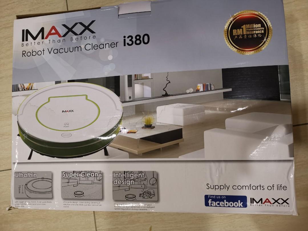 IMAXX robot vacuum cleaner i 380