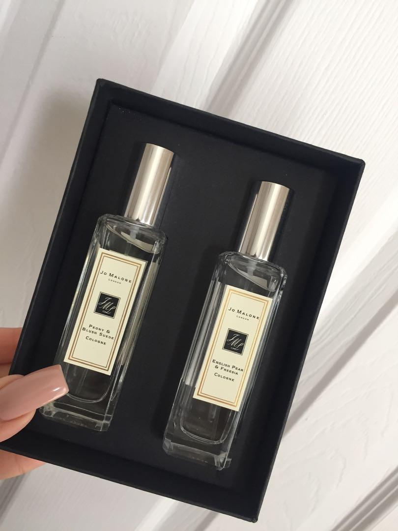 Jo Malone Cologne 30ml Duo (Peony & Blush Suede / English Pear & Freesia)