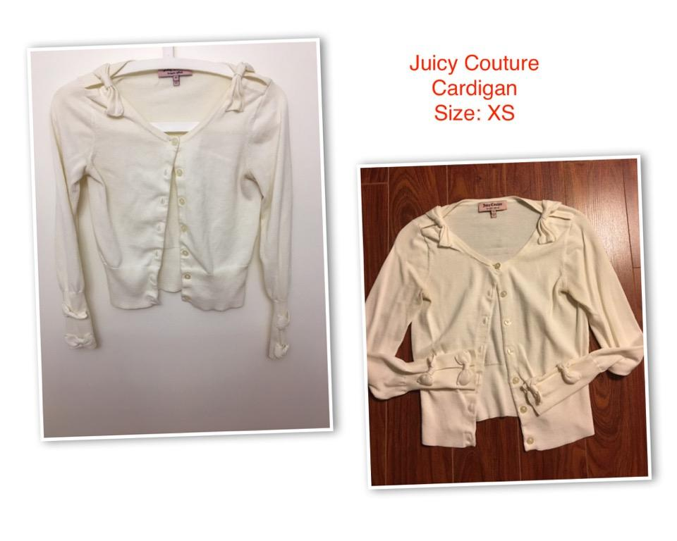Juicy Couture Tracksuit, Cardigan, T-shirt and dress