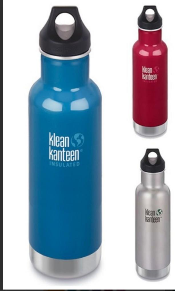 Klean Kanteen Insulated Classic 20 oz with Loop Cap