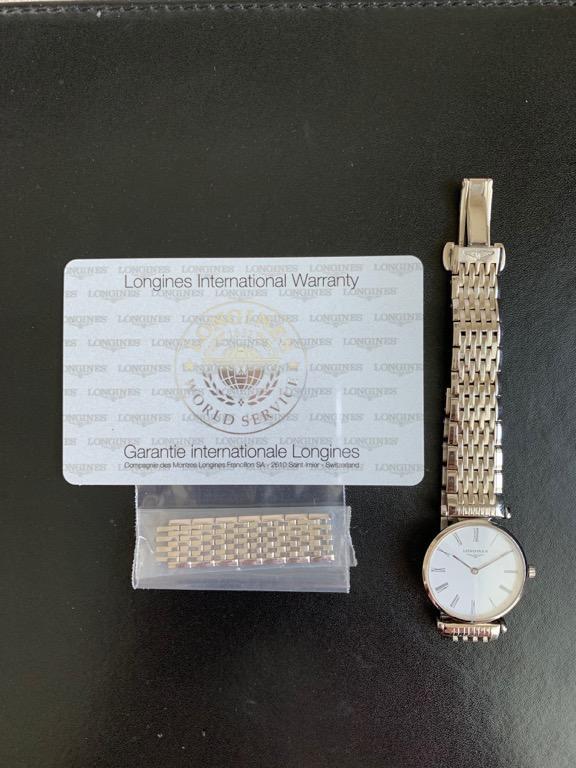 La Grande Classique De Longines 24mm Quartz Movement, Stainless Steel Material, White Dial