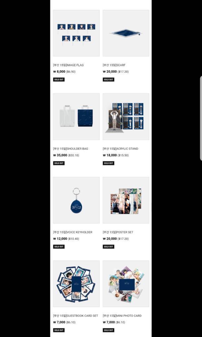 [LFS/WTS/PO] BTS 5th MUSTER Magic Shop Japan Merch/Goodies