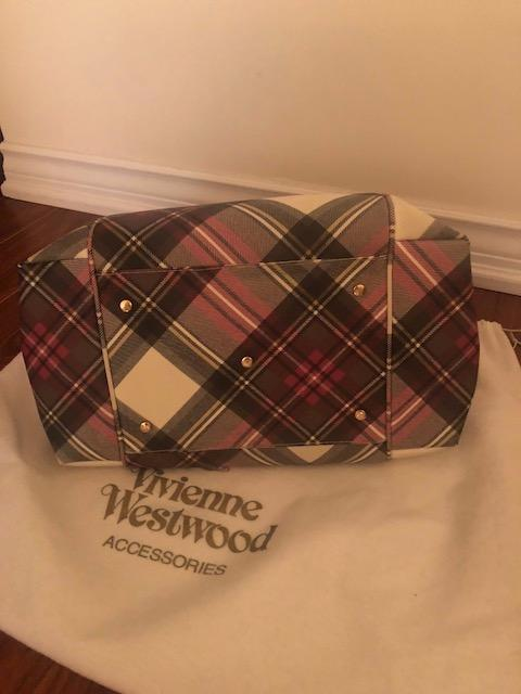Like New Large Authentic Vivienne Westwood Derby Tote Bag