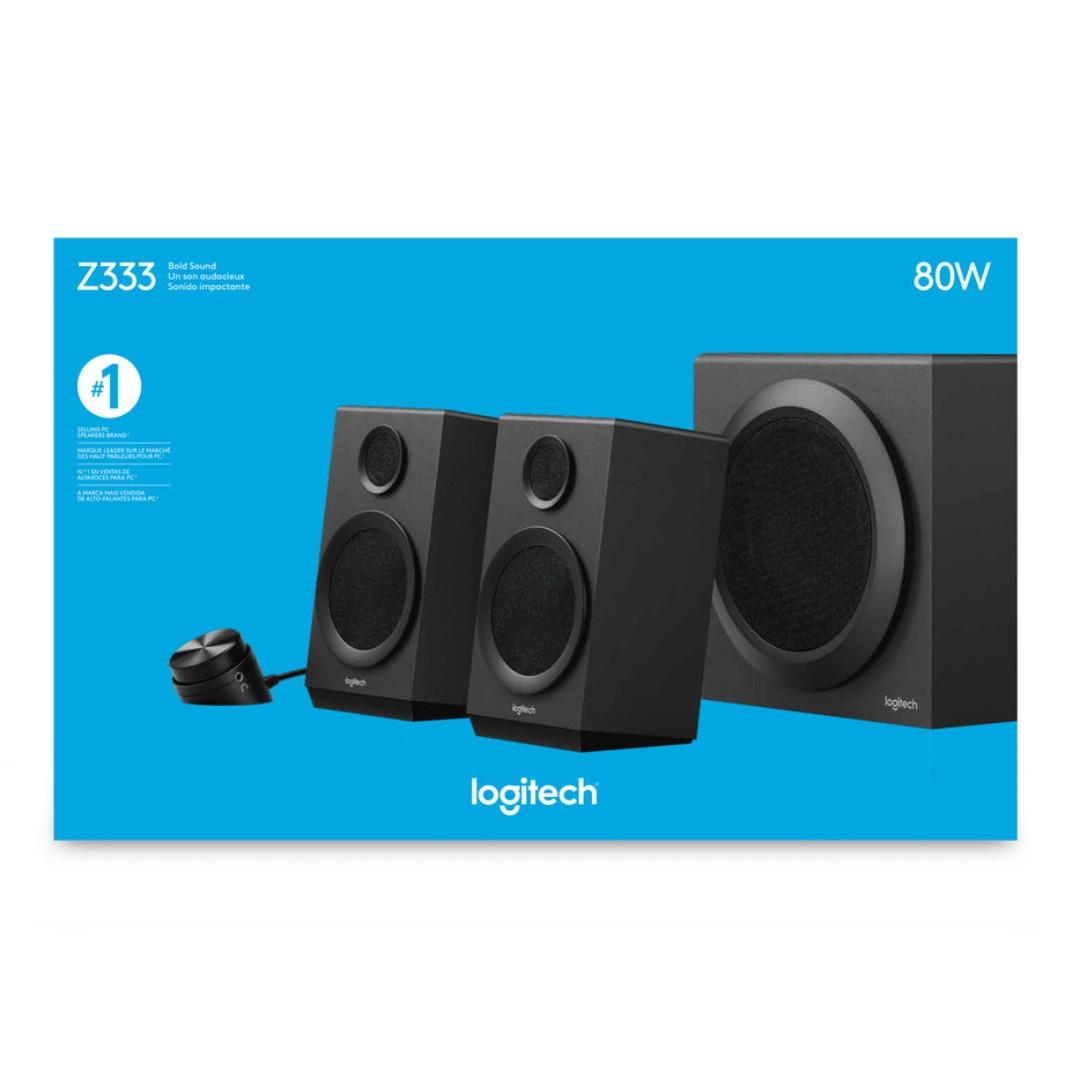 Brand New Logitech Multimedia Speakers Z333 with subwoofer