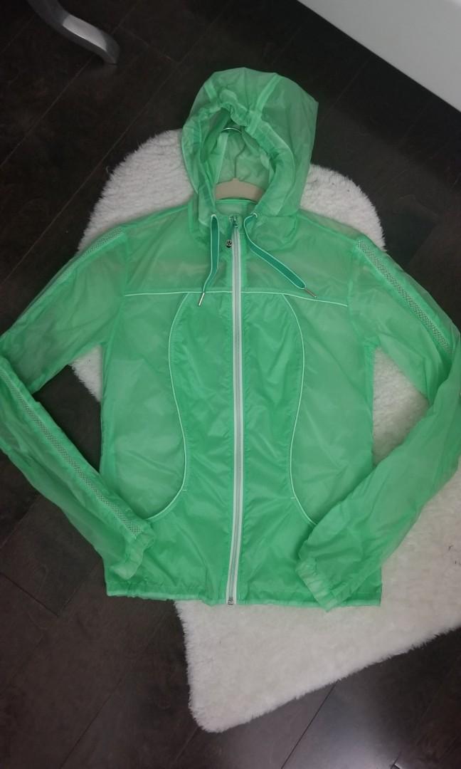 Lululemon Transparent-See Windbreaker Lightweight Jacket