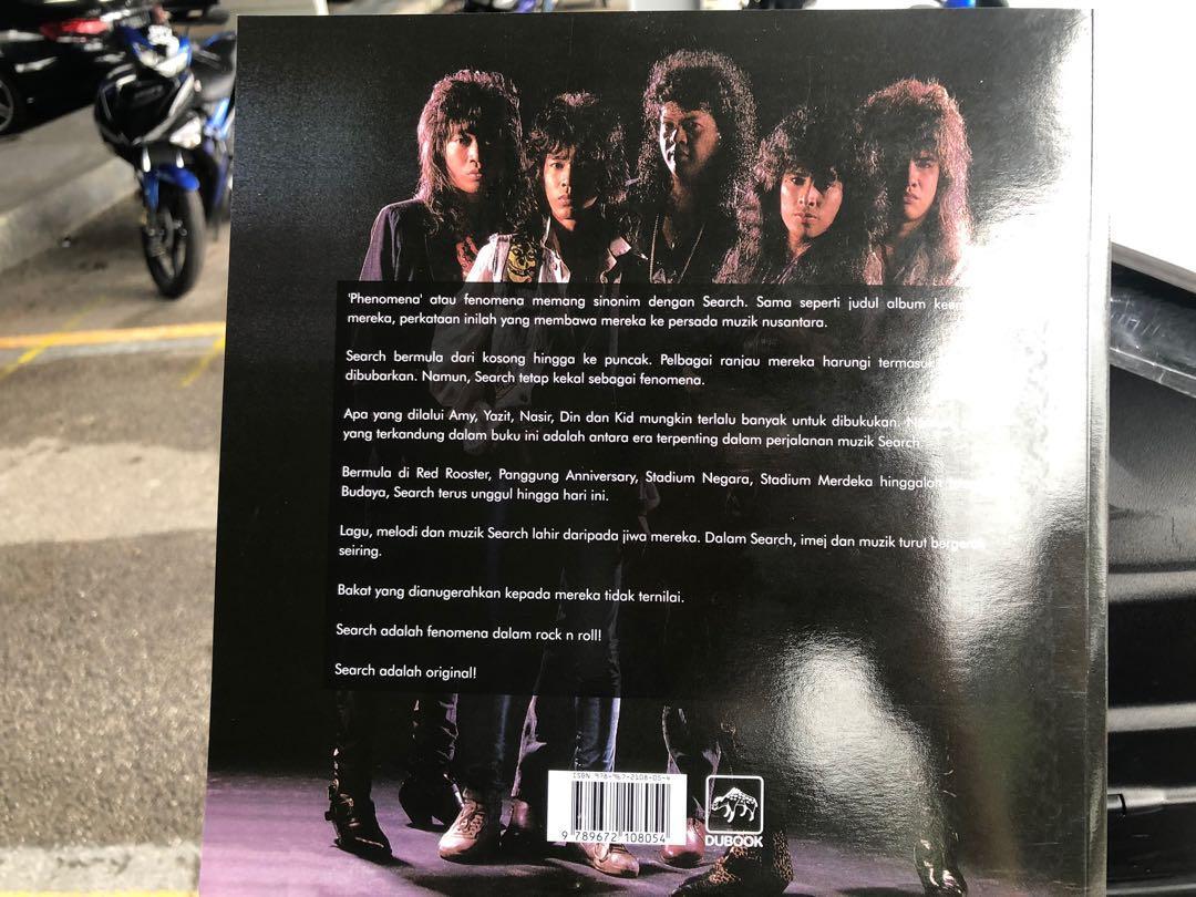 Majalah kumpulan rock tanah air SEARCH