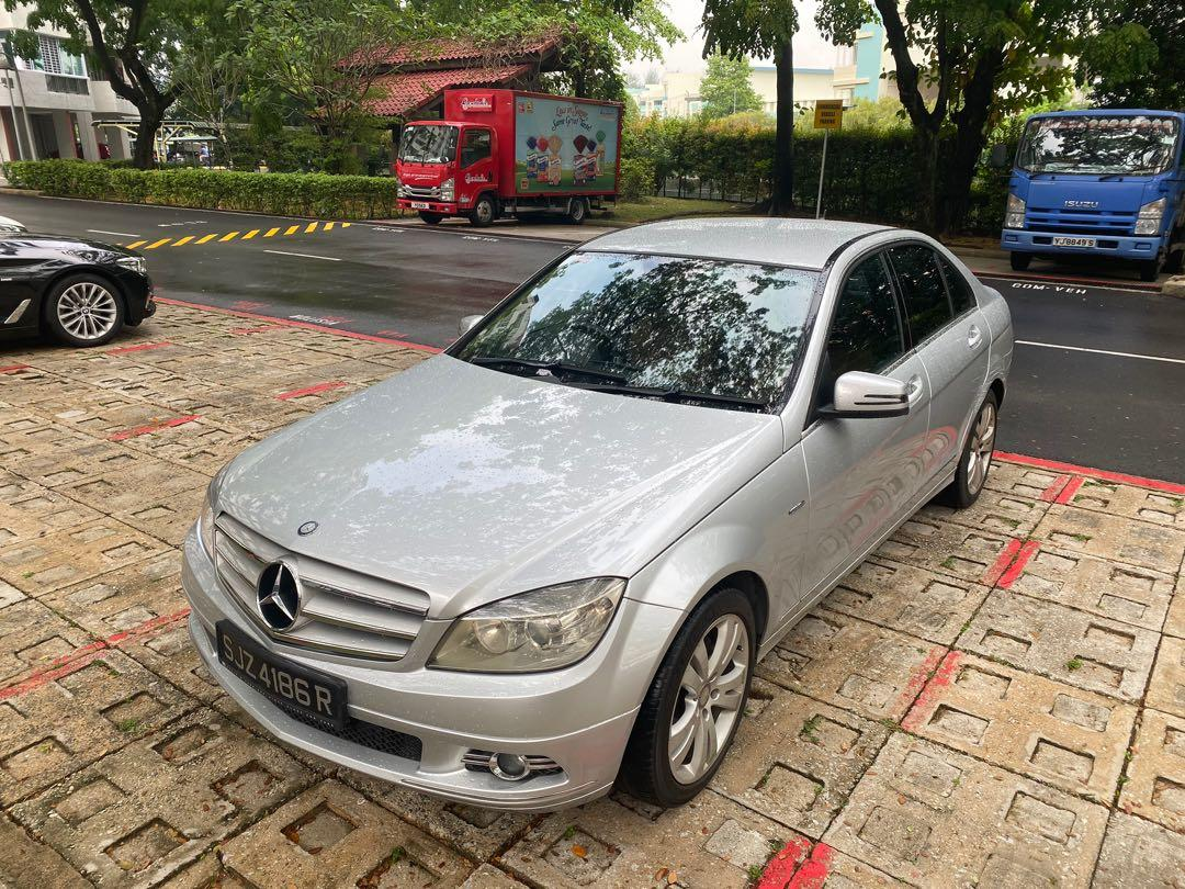 Merc C180 avantgarde for rent