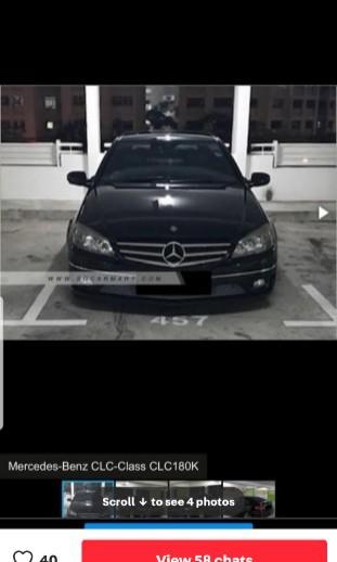 Mercedes-Benz CLC180 Kompressor (A)