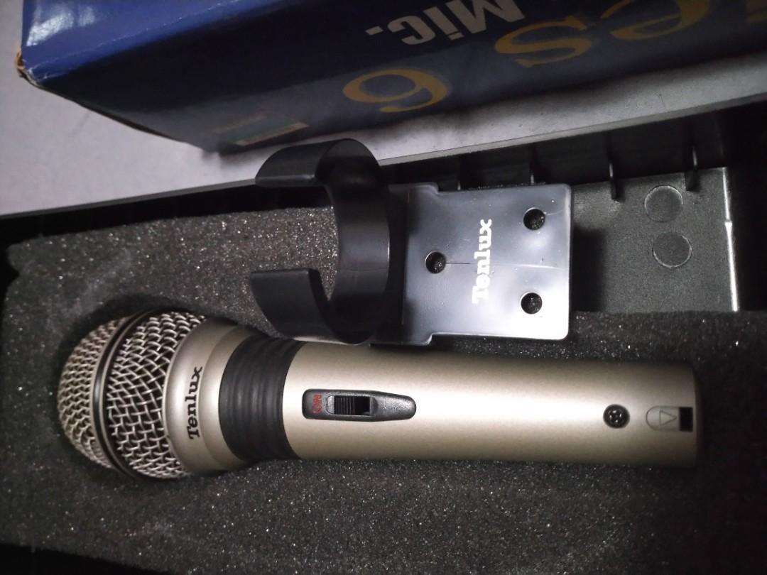 Tenlux metal microphone