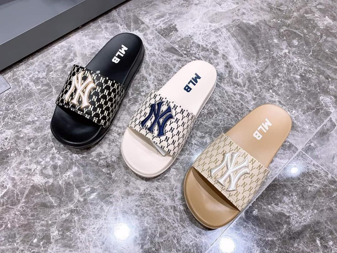 MLB x GUCCI slippers, Women's Fashion