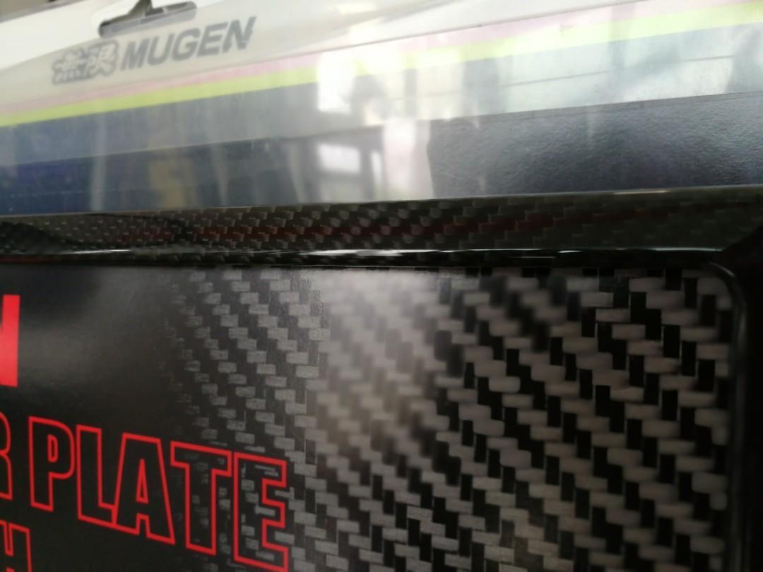 Mugen Carbon Fiber No. Plate Holder