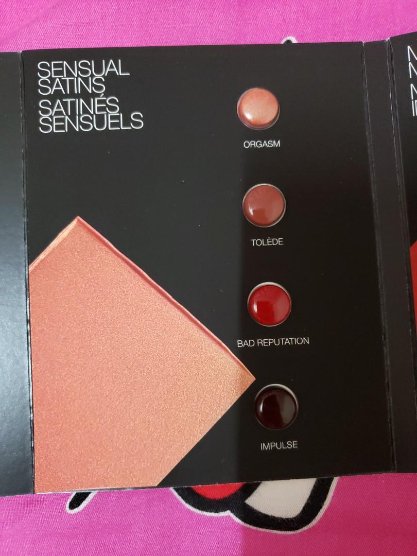 全新NARS12色唇膏(試用版)