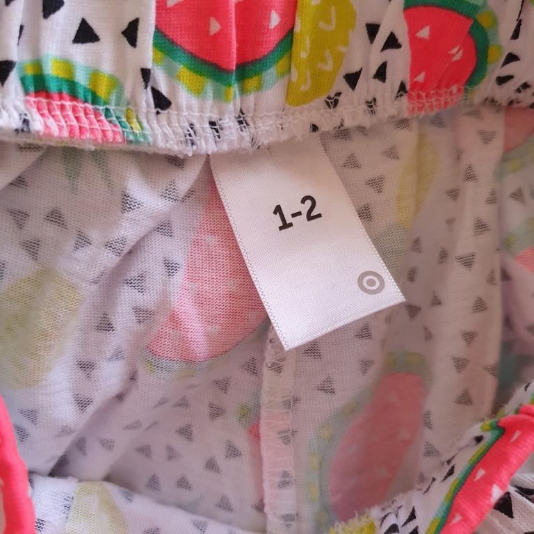 NWOT Size 1-2 more like 2-3 3-4 Target soft lightweight short shorts skort