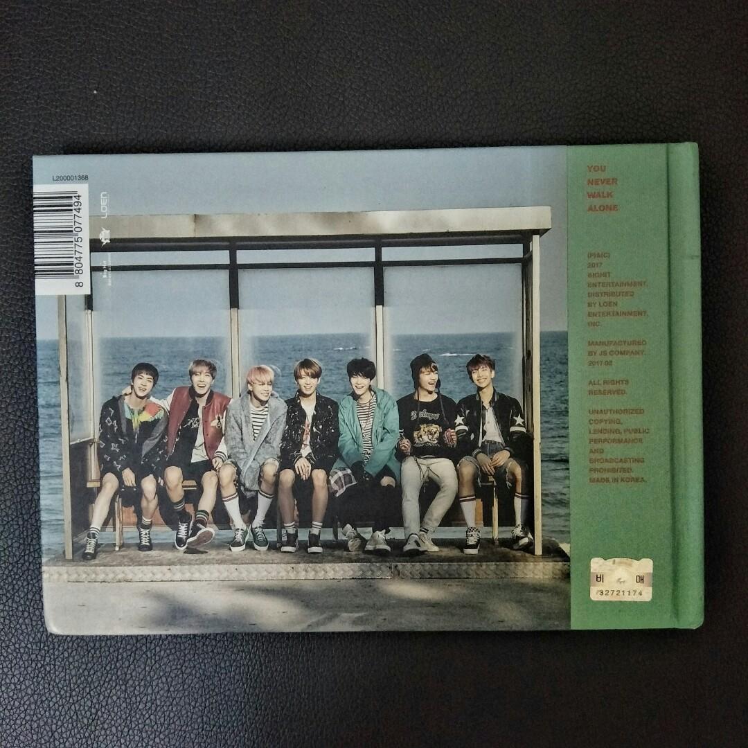 Official BTS OT7 Signature YNWA Album