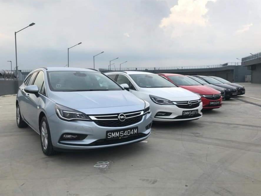 Opel Astra/Insignia Diesel (GOJEK/GRAB/RYDE/TADA READY)