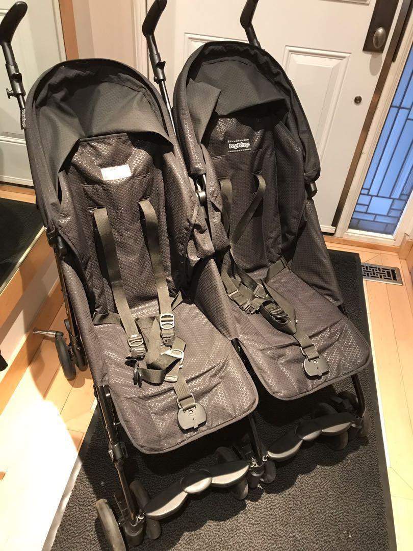 Peg Perego Pliko Mini Twin - lightweight double stroller