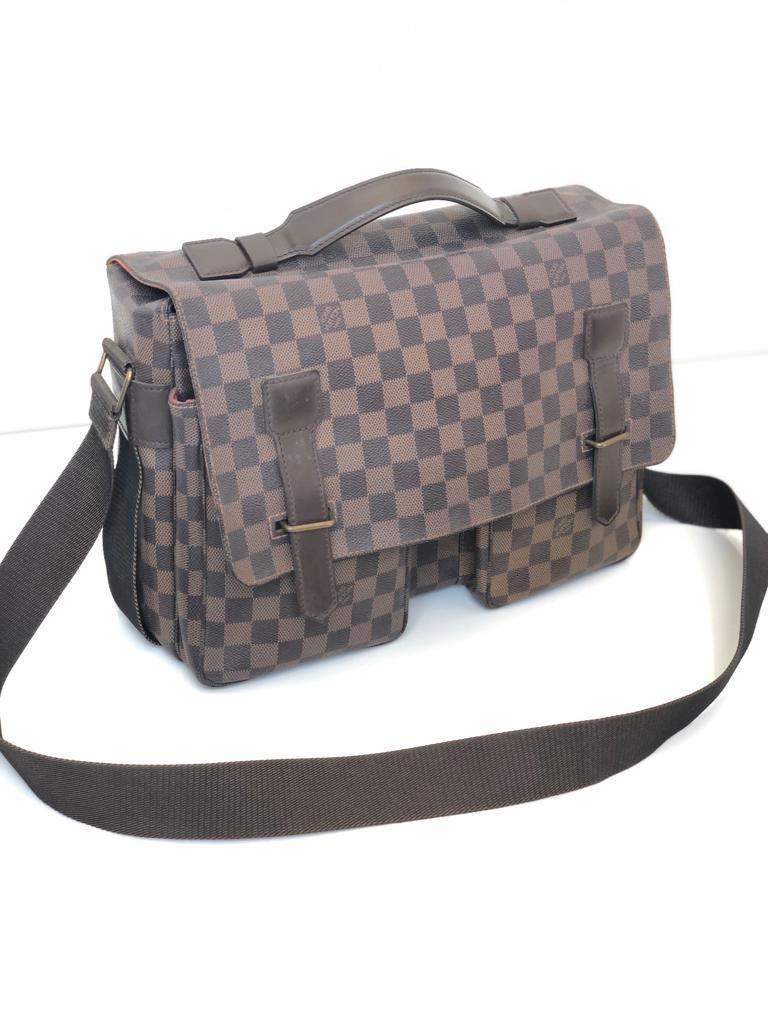 Preloved Authentic LV Broadway Damier bag only (35x25cm)