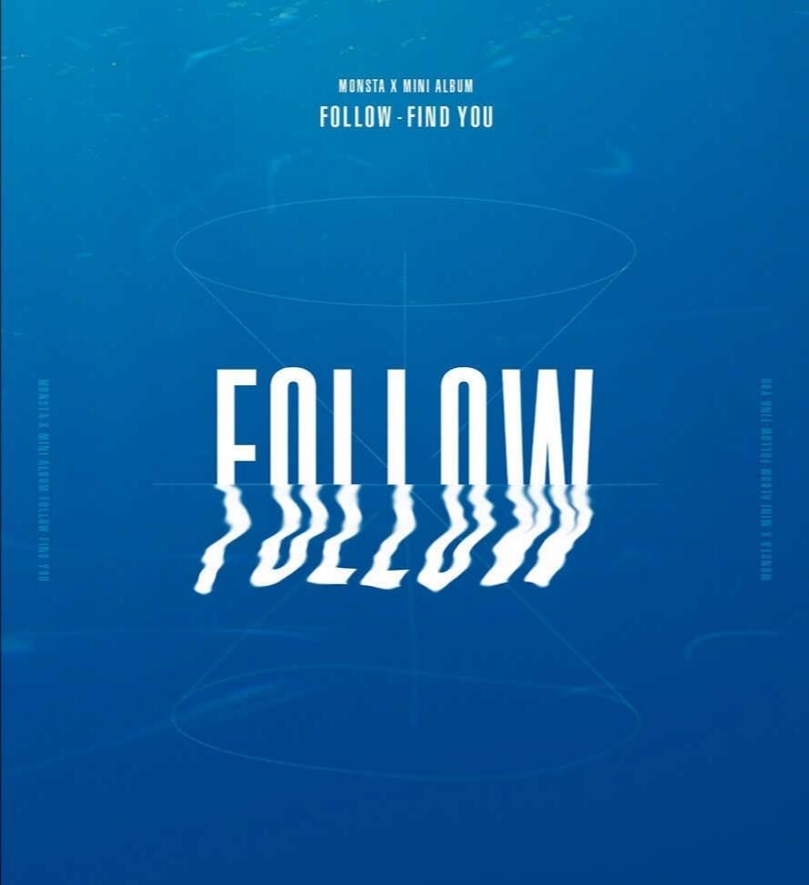 [PREORDER] MONSTA X - Follow : Find You Mini Album