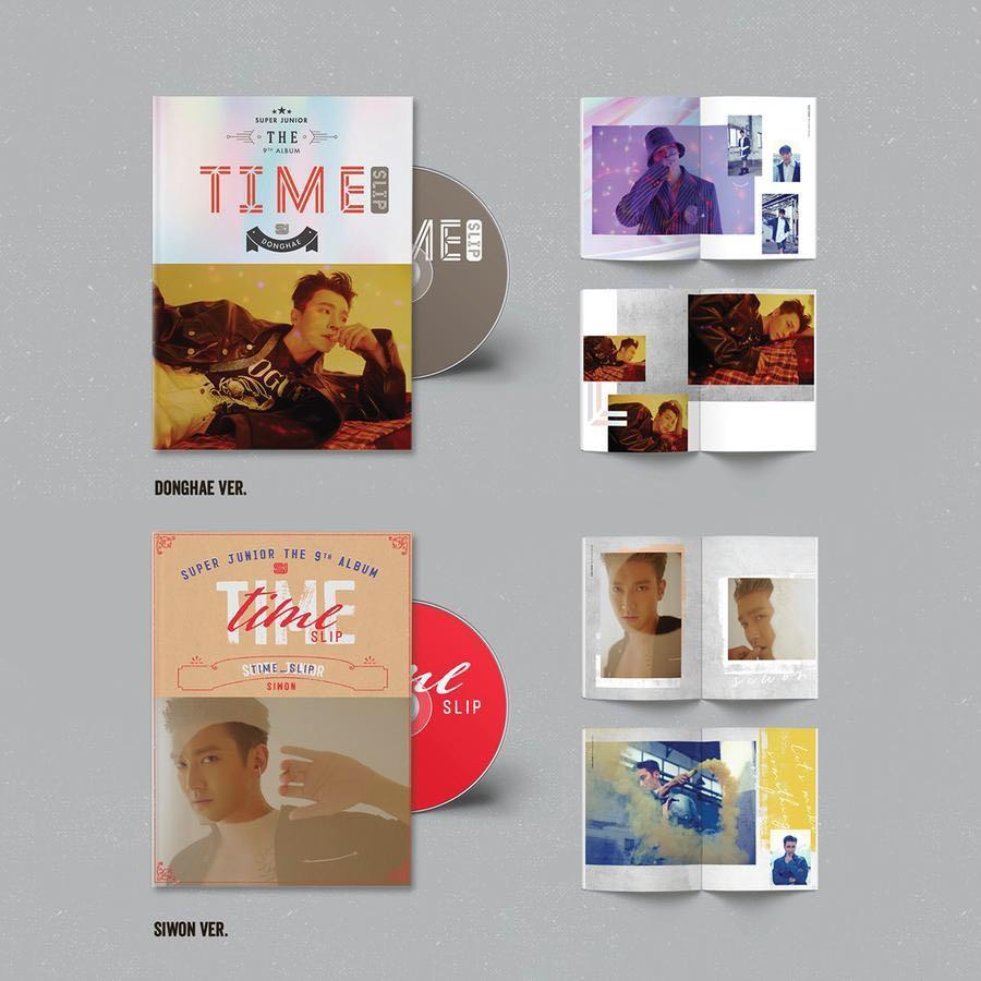[Pre-Order] SUPER JUNIOR - Album Vol.9 (Time_Slip)
