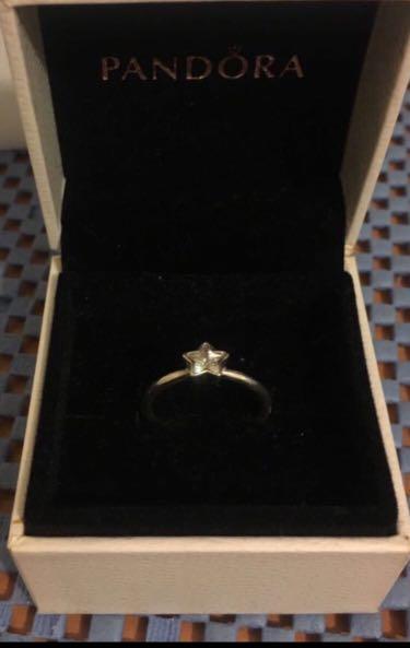 💯Real pandora 閃石925純銀🌟星星戎💍💍💍💋購於專門店的❤️👍🏼新淨、小戴、平售,有盒。