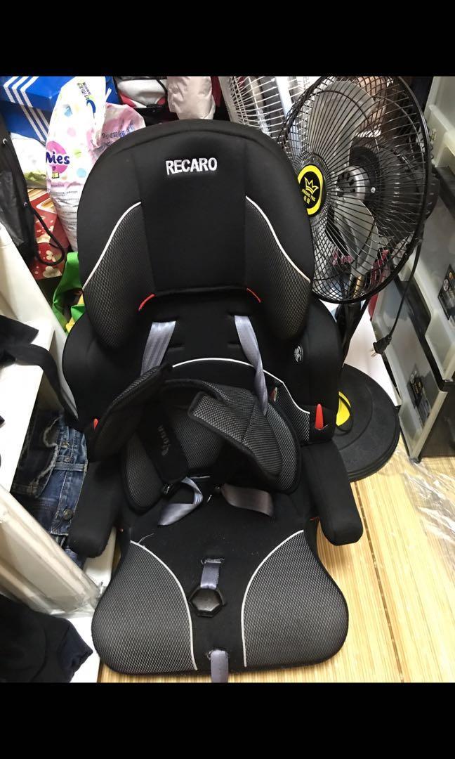 RECAR0賽車型汽車安全座椅(較大小孩用)