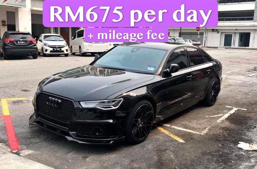 Rent a Audi A6 in KL