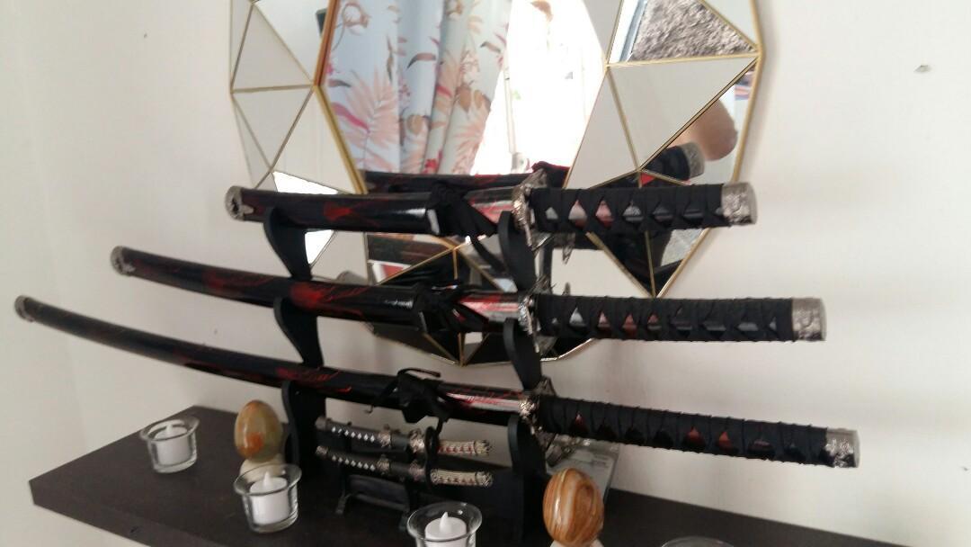 Samurai  sword  3 size