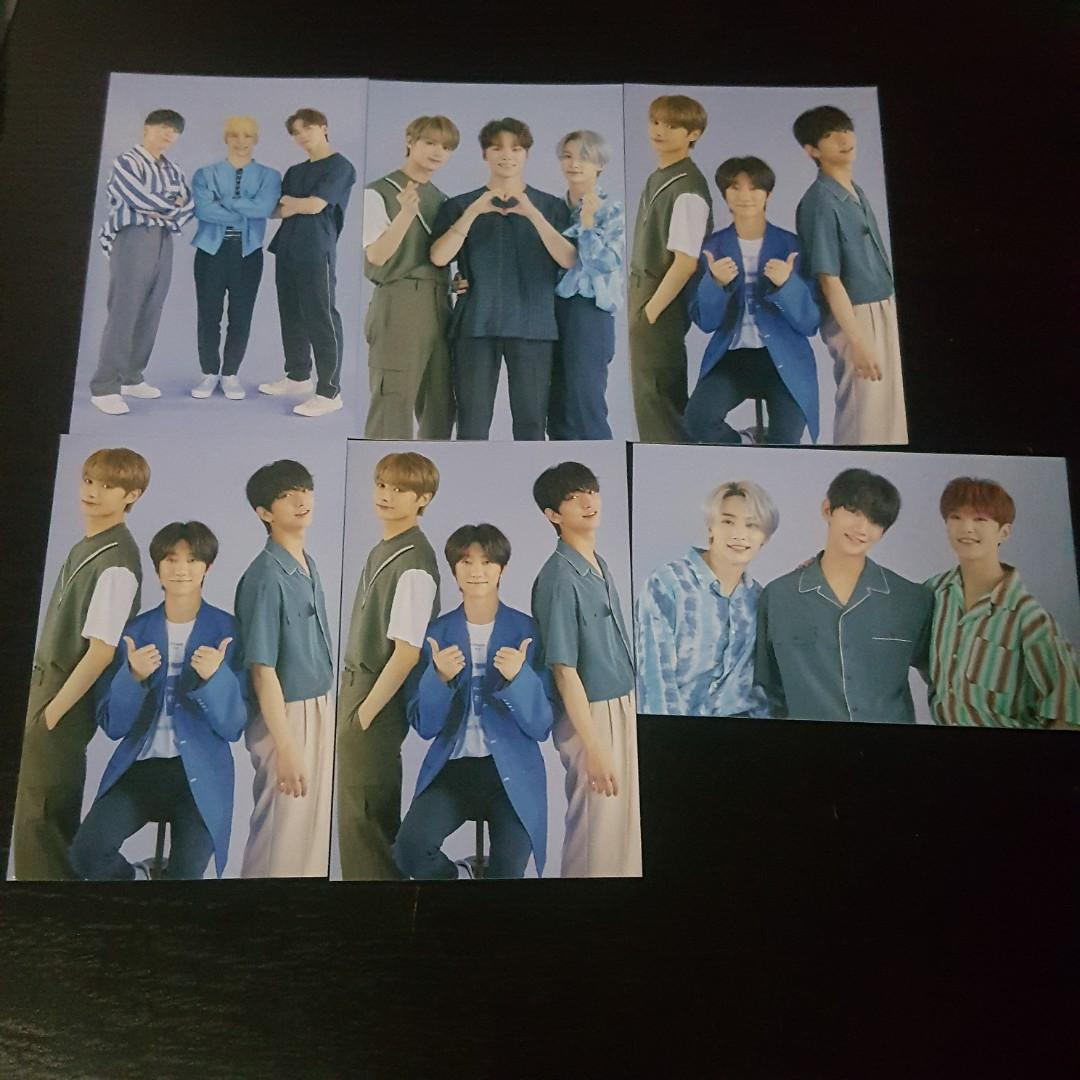 SEVENTEEN ODE TO YOU TRADING CARD