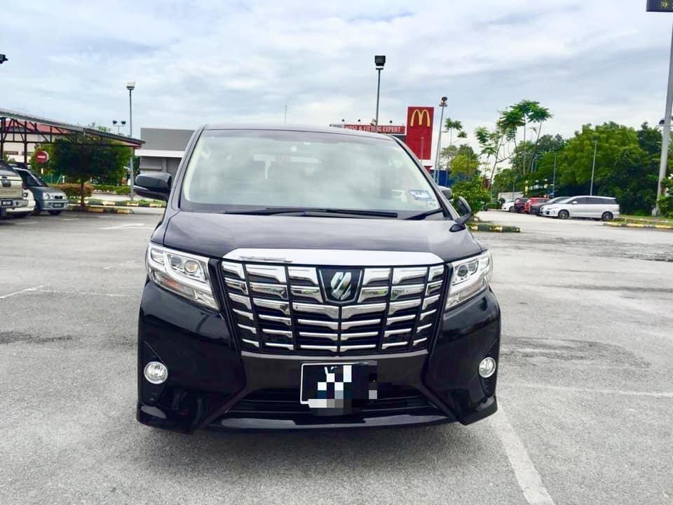 SEWA BELI>>Toyota Alphard 2.5  7 Seaters 2017/2019