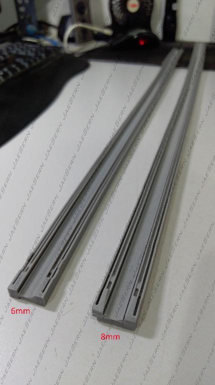 Silicone Wiper Blade Refill