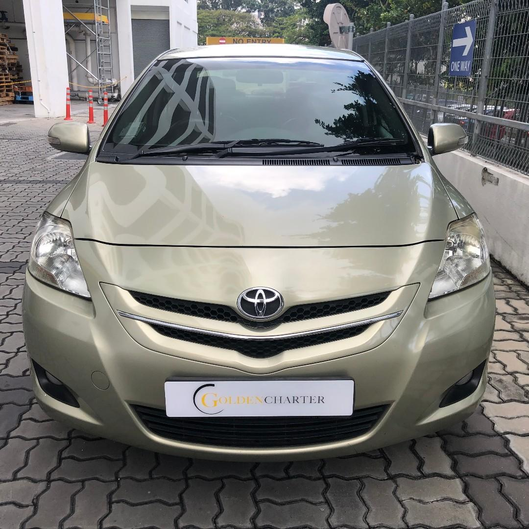 Toyota Vios For Rent , GoJek Rebate. Grab/Go-Jek/Ryde/TADA. All PHV/Personal usage available!