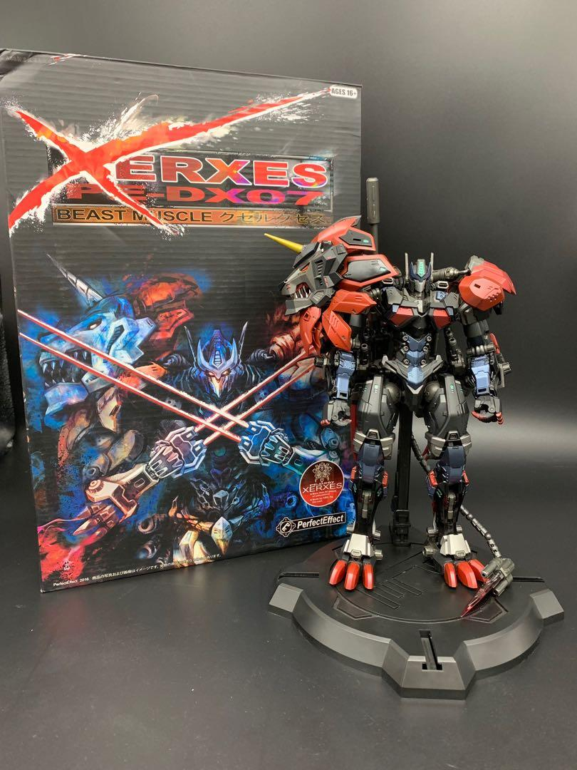 Transformers: Perfect Effect Leonidas (PE-DX05) and Xerxes (PE-DX07)