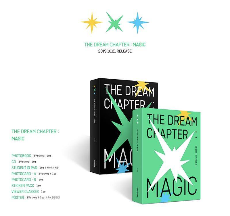 TXT The Dream Chapter : Magic
