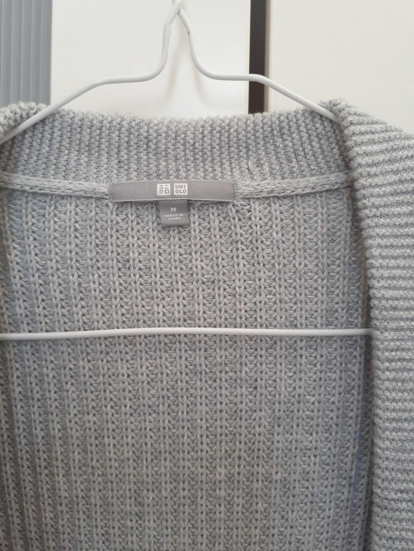 Uniqlo Grey Cardigan (M(