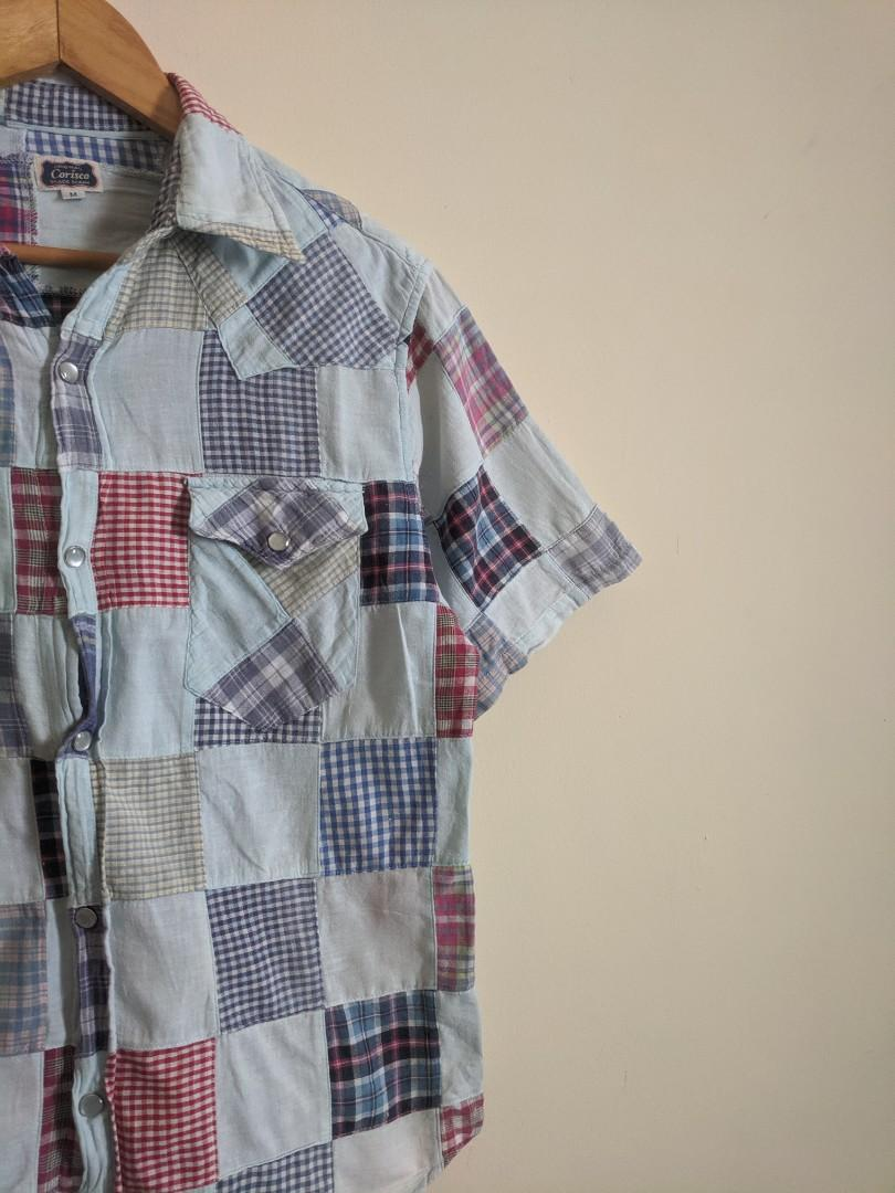 Vintage Corisco Patchwork Shirt