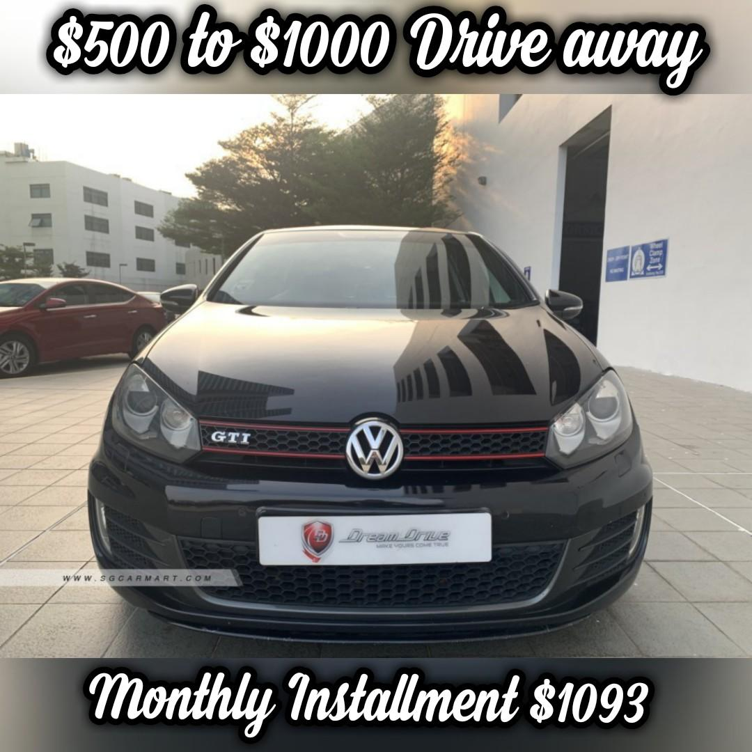 Volkswagen Golf GTI 5DR Sunroof (New 10-yr COE) Auto