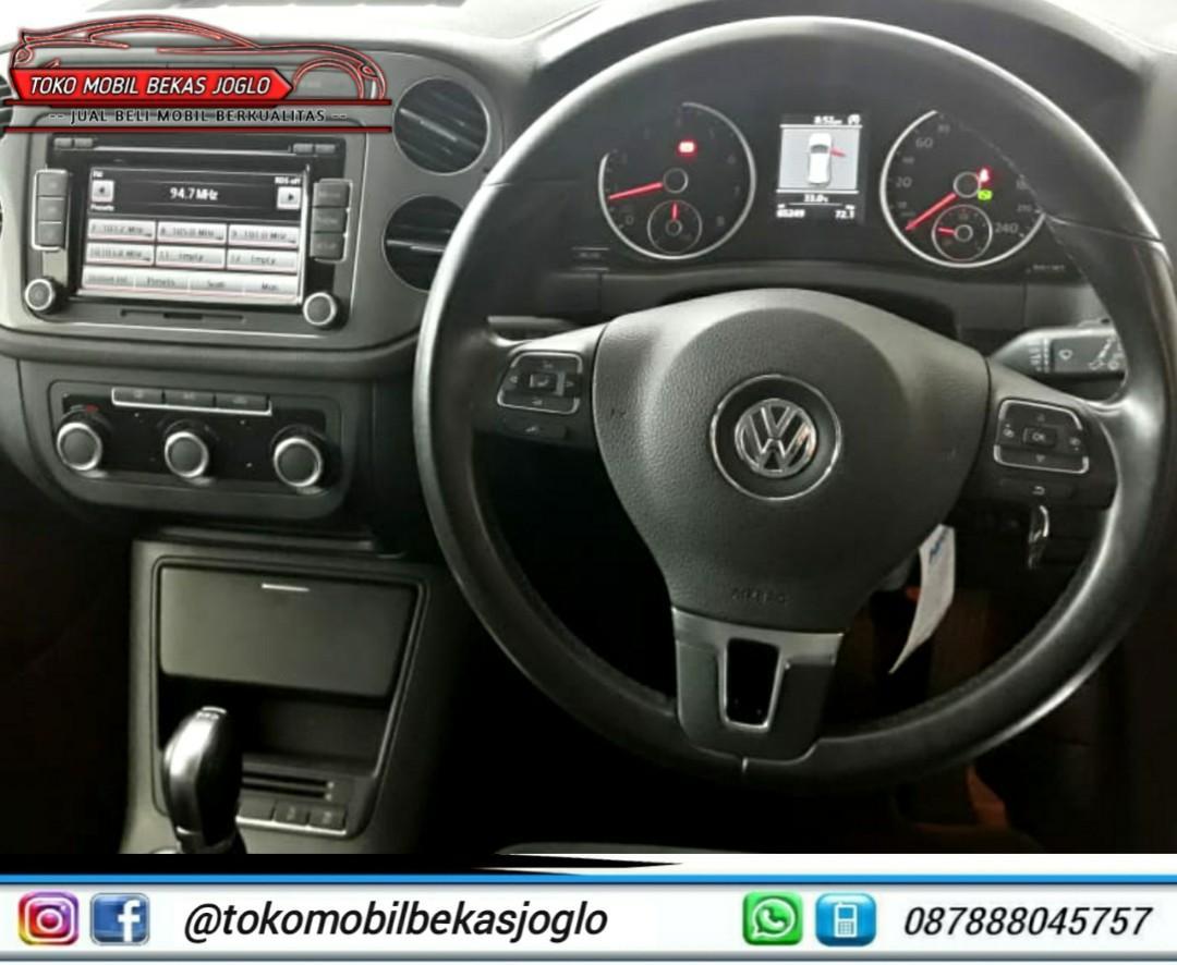 VW TIGUAN 1.4 TFSI HIGH LINE 2014 BRONZE DP 17jt KONDISI ISTIMEWA DAN SIAP PAKAI
