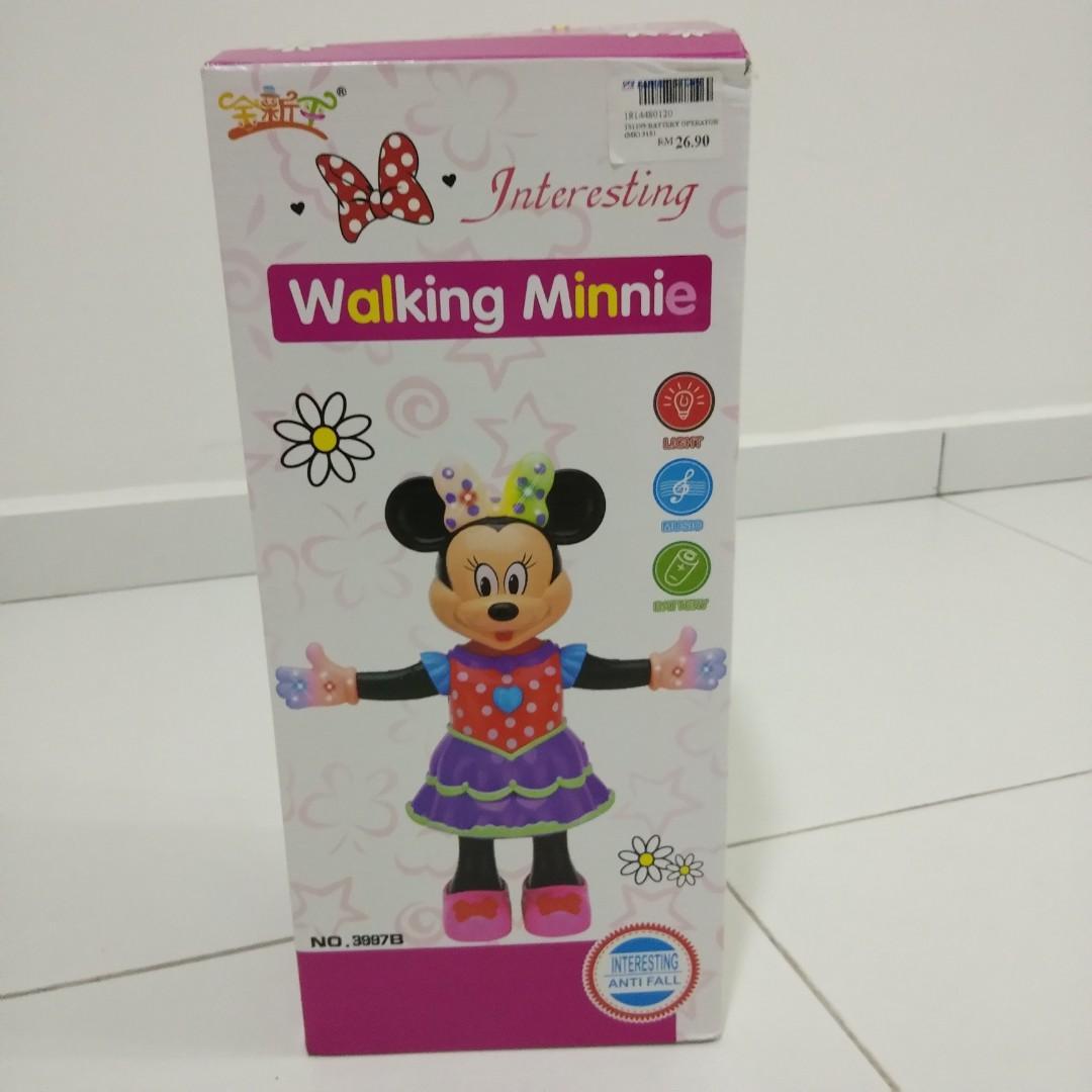 Walking Minnie