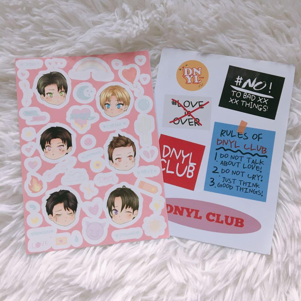 WTS NCT DREAM STICKERS