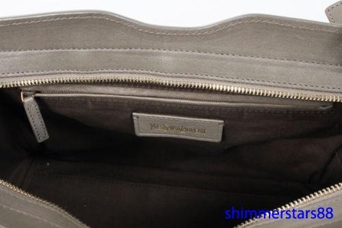 Yves Saint Laurent YSL Taupe Cabas Chyc Small handbag, RRP$2195