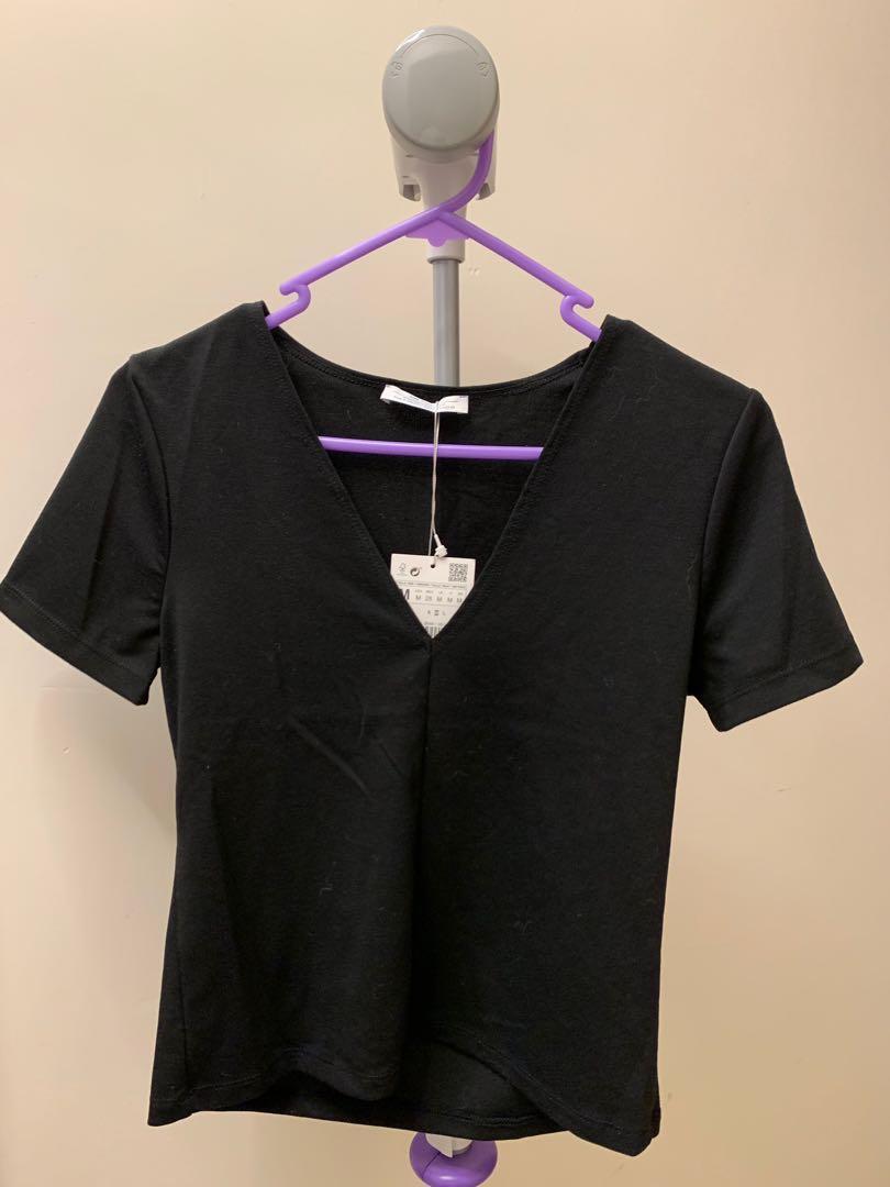 Zara 黑色top