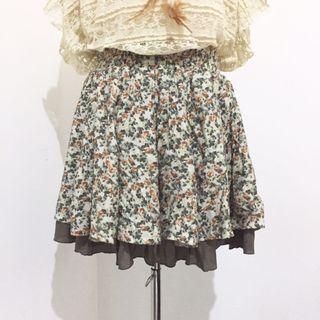 Rok mini floral skirt