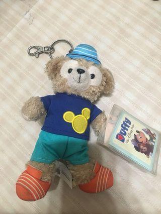 香港迪士尼購入 正版達菲吊飾