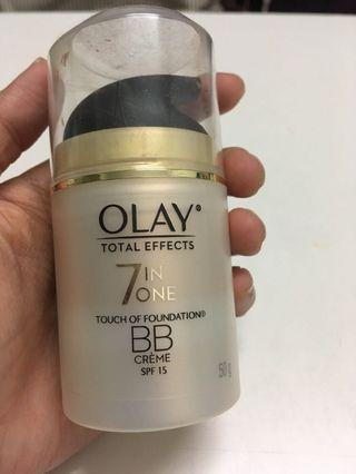 Olay Total Effects 7 in One BB CReam touch of foundation